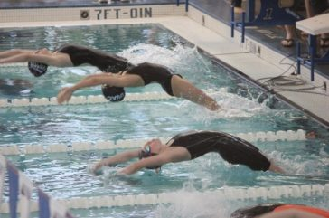 Bella backstroke take off