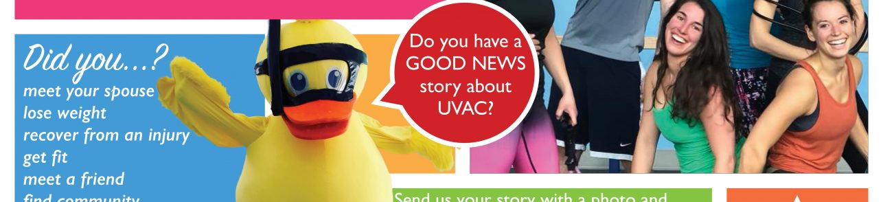 GOOD NEWS at UVAC!