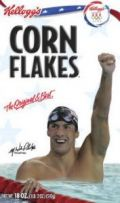 swimmer, wheaties box